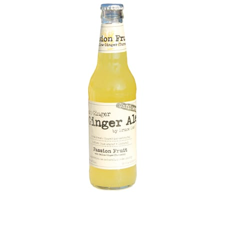 Bruce Cost Passion Fruit Fresh Ginger Ale 12 oz. Bottle — New Flavor!!