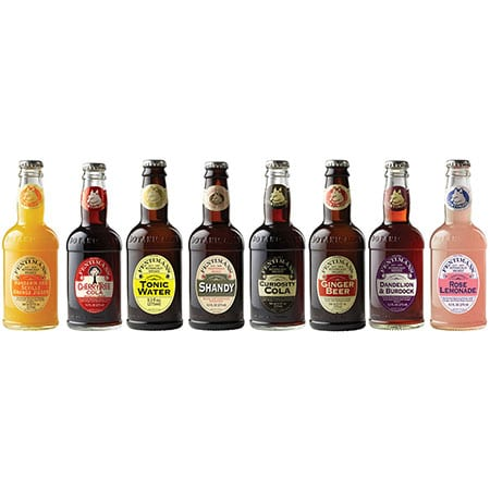 Fentimans Botanically Brewed Sodas