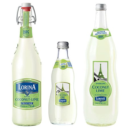 Lorina Coconut Lime Sparkling French Soda