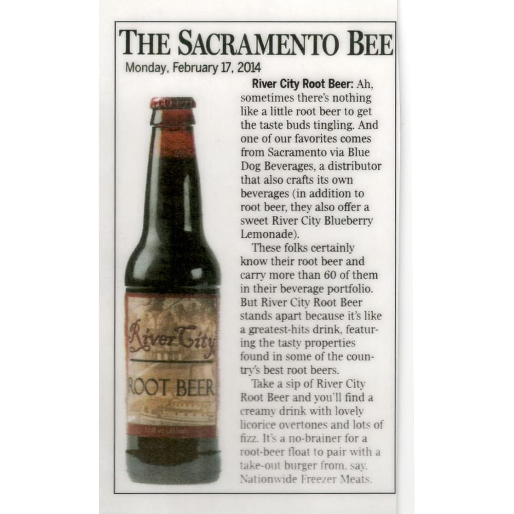 River City Root Beer in the Sacramento Bee!